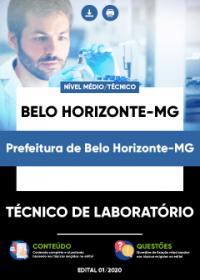 Técnico de Laboratório - Prefeitura de Belo Horizonte-MG
