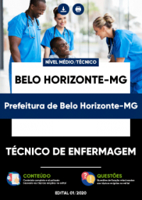 Técnico de Enfermagem - Prefeitura de Belo Horizonte-MG