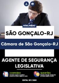Agente de Segurança Legislativa - Câmara de São Gonçalo-RJ