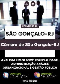Analista Legislativo - Especialidade Administração - Câmara de São Gonçalo-RJ