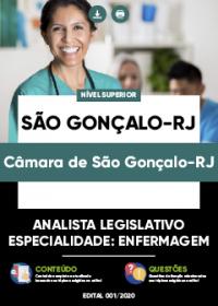 Analista Legislativo - Especialidade: Enfermagem - Câmara de São Gonçalo-RJ