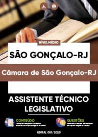 Assistente Técnico Legislativo - Câmara de São Gonçalo-RJ