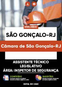 Assistente Técnico Legislativo- Inspetor de Segurança - Câmara de São Gonçalo-RJ