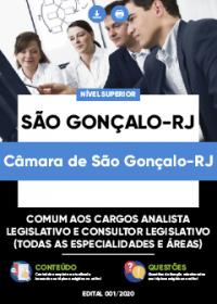 Comum aos cargos de Analista e Consultor Legislativo - Câmara de São Gonçalo-RJ