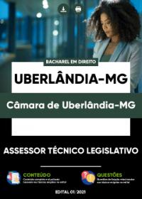 Assessor Técnico Legislativo - Câmara de Uberlândia-MG