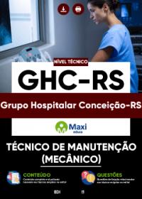 Técnico de Manutenção (Mecânico) - GHC-RS