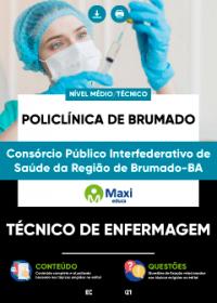 Técnico de Enfermagem - Policlínica de Brumado