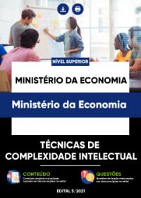 Técnicas de Complexidade Intelectual - Ministério da Economia