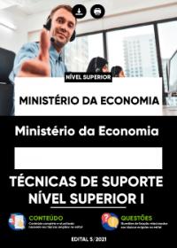 Técnicas de Suporte - Nível Superior I - Ministério da Economia