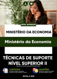 Técnicas de Suporte - Nível Superior II - Ministério da Economia