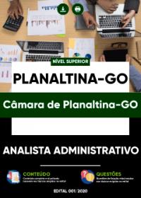 Analista Administrativo - Câmara de Planaltina-GO
