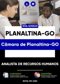 Analista de Recursos Humanos - Câmara de Planaltina-GO
