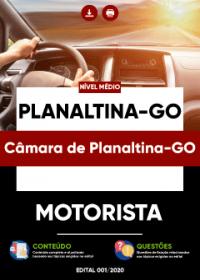 Motorista - Câmara de Planaltina-GO
