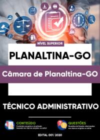 Técnico Administrativo - Câmara de Planaltina-GO