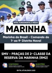 Serviço Militar Voluntário - MARINHA (1º ao 9º Distrito Naval)