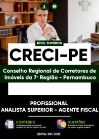 Profissional Analista Superior - Agente Fiscal - CRECI-PE
