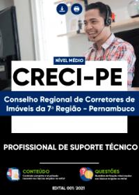 Profissional de Suporte Técnico - CRECI-PE