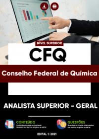 Analista Superior - Geral - CFQ