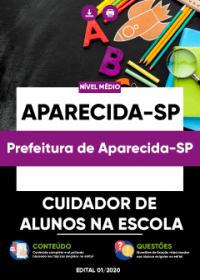 Cuidador de Alunos na Escola - Prefeitura de Aparecida-SP