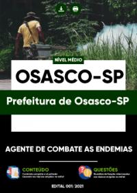 Agente de Combate as Endemias - Prefeitura de Osasco-SP