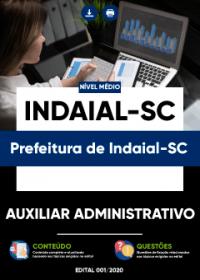 Auxiliar Administrativo - Prefeitura de Indaial-SC