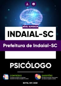 Psicólogo - Prefeitura de Indaial-SC