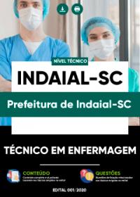 Técnico em Enfermagem - Prefeitura de Indaial-SC