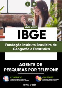 Agente de Pesquisas por Telefone - IBGE