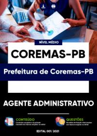 Agente Administrativo - Prefeitura de Coremas-PB