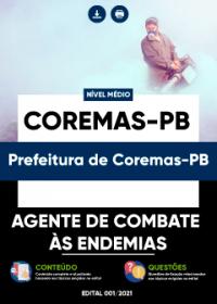 Agente de Combate às Endemias - Prefeitura de Coremas-PB
