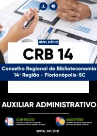 Auxiliar Administrativo - CRB 14