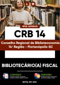 Bibliotecário(a) Fiscal - CRB 14