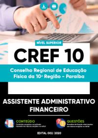 Assistente Administrativo Financeiro - CREF 10