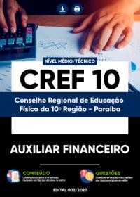 Auxiliar Financeiro - CREF 10