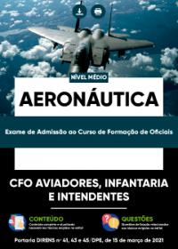CFO Aviadores, Infantaria e Intendentes - Aeronáutica