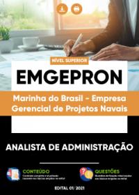 Analista de Administração - EMGEPRON