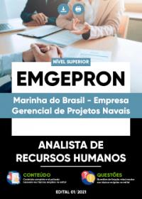 Analista de Recursos Humanos - EMGEPRON