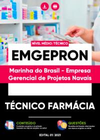 Técnico Farmácia - EMGEPRON