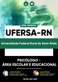 Psicólogo - Área Escolar e Educacional - UFERSA-RN