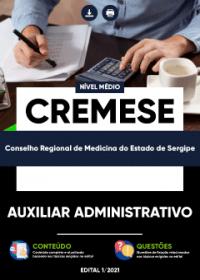 Auxiliar Administrativo - CREMESE