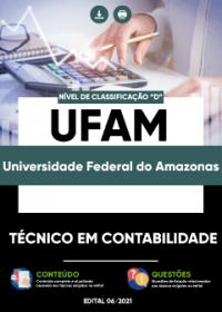 Técnico em Contabilidade - UFAM