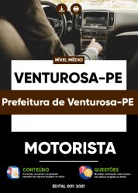 Motorista - Prefeitura de Venturosa-PE