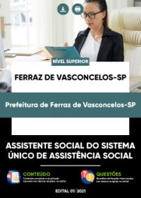 Assistente Social - Prefeitura de Ferraz de Vasconcelos-SP