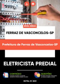 Eletricista Predial - Prefeitura de Ferraz de Vasconcelos-SP