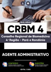 Agente Administrativo - CRBM-4ª Região