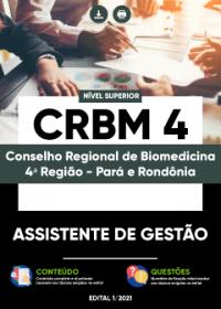 Assistente de Gestão - CRBM-4ª Região
