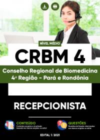 Recepcionista - CRBM-4ª Região