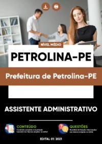 Assistente Administrativo - Prefeitura de Petrolina-PE