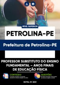 Professor Substituto-Anos Finais de Educação Física - Prefeitura de Petrolina-PE