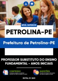 Professor Substituto - Anos Iniciais - Prefeitura de Petrolina-PE